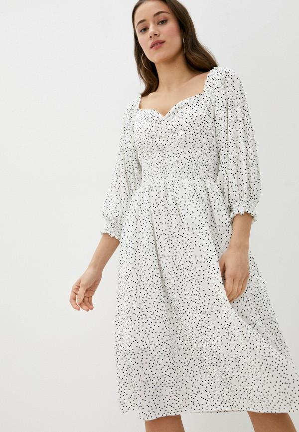 женское повседневные платье rainrain, белое