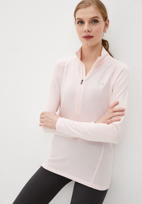 женская олимпийка under armour, розовая