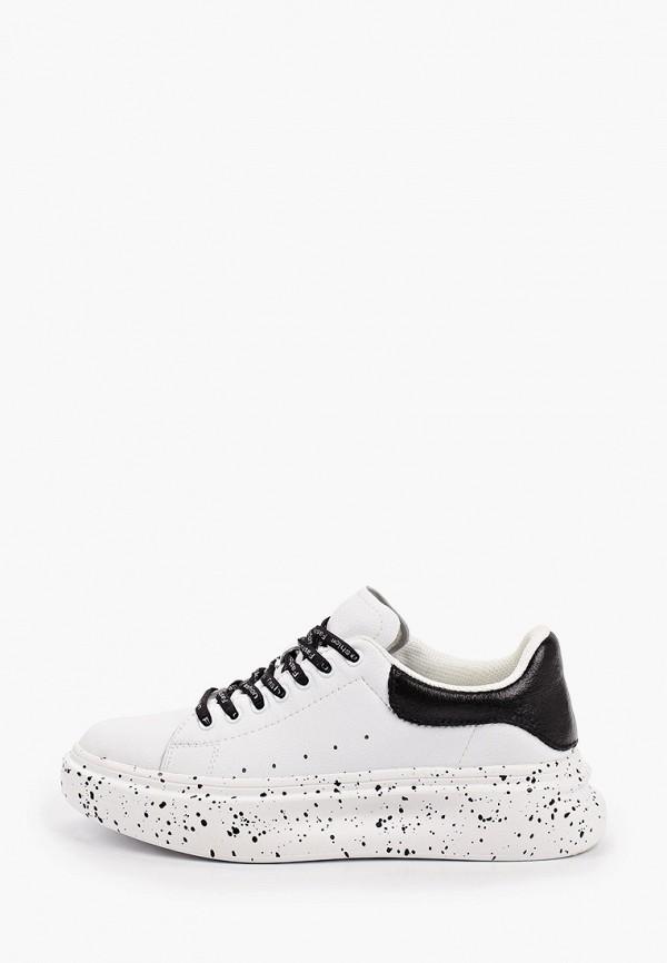 женские низкие кроссовки la grandezza, белые