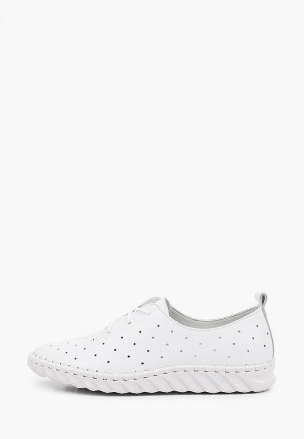 женские низкие ботинки la grandezza, белые