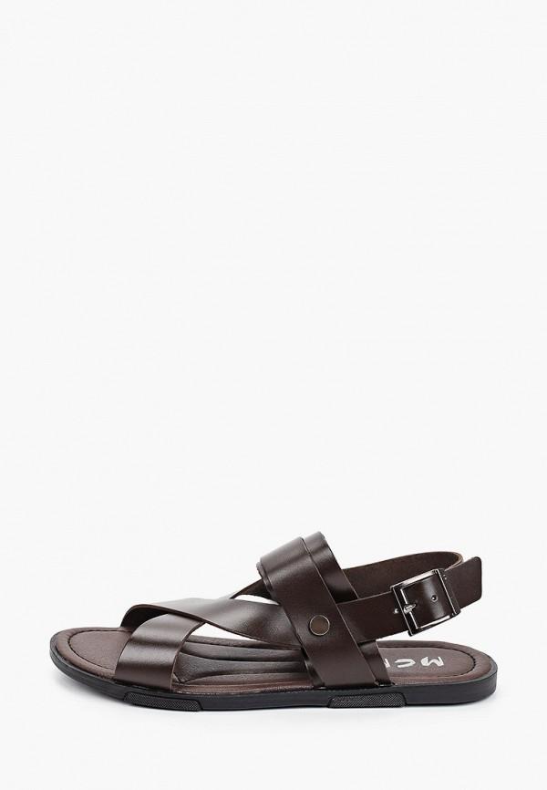 мужские сандалии mcm, коричневые