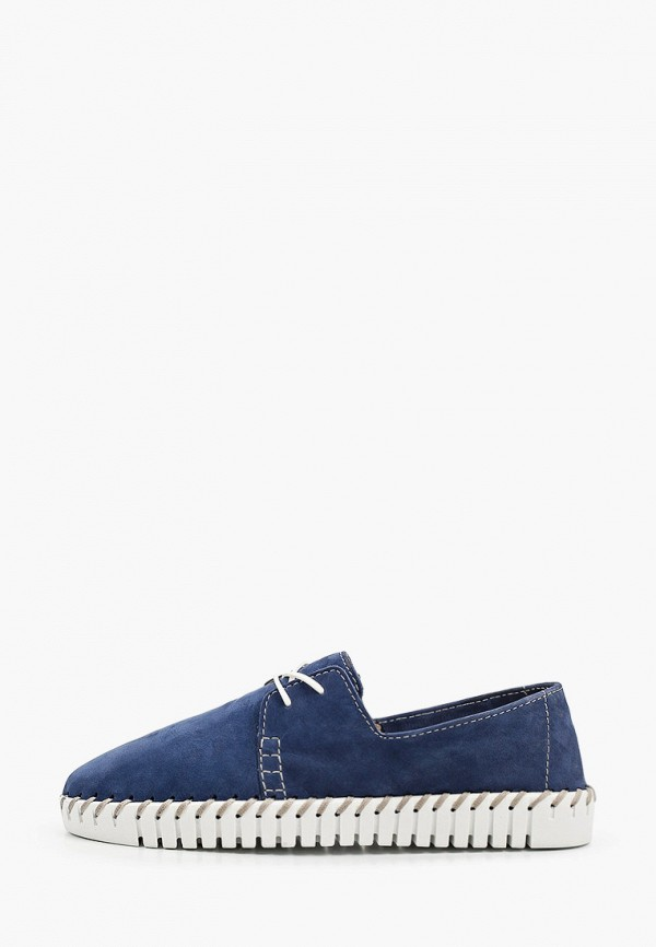 женские низкие ботинки mcm, голубые