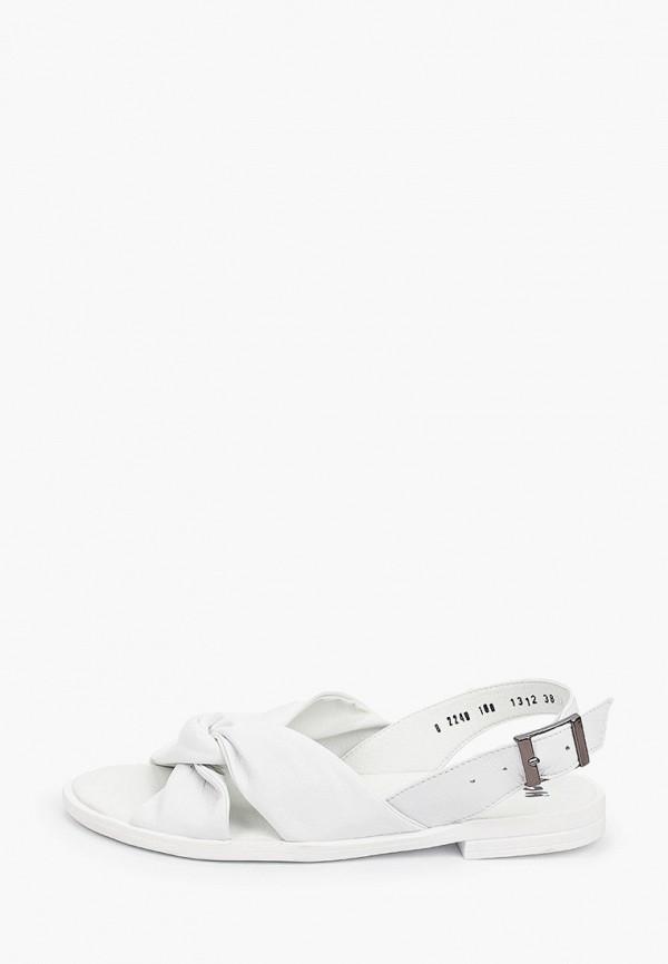 женские сандалии mcm, белые