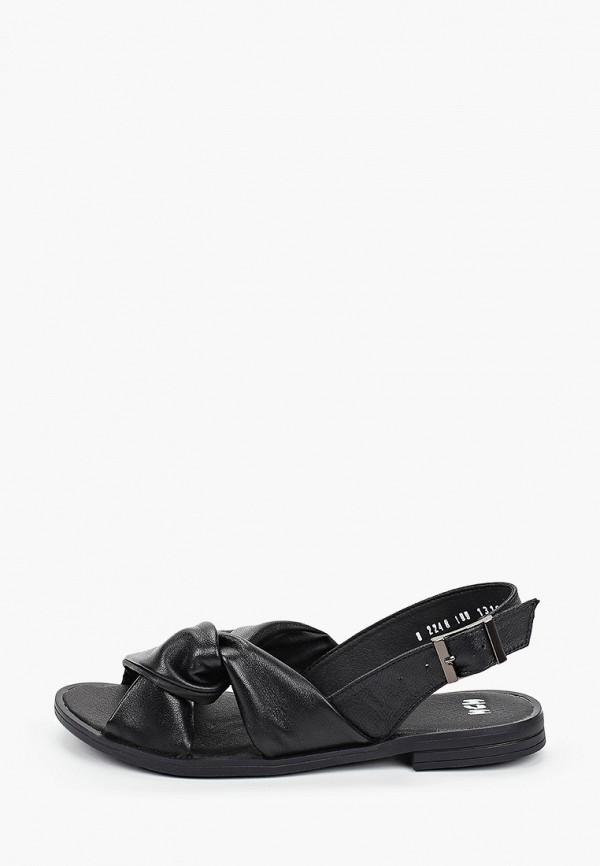 женские сандалии mcm, черные