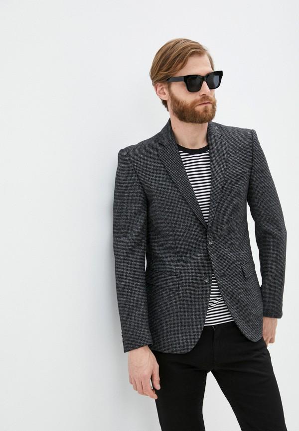 мужской пиджак dolce & gabbana, серый