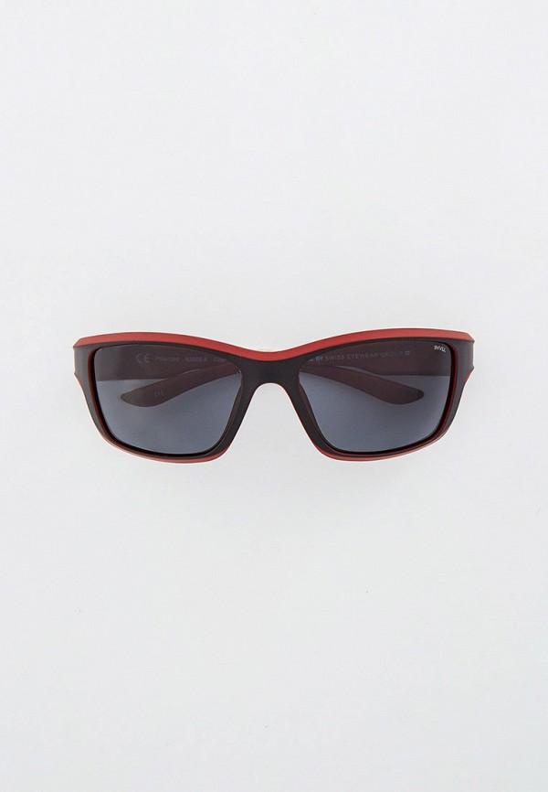 солнцезащитные очки invu для мальчика, бордовые