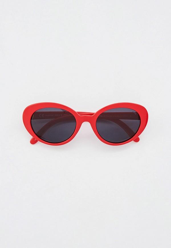 солнцезащитные очки invu для девочки, красные