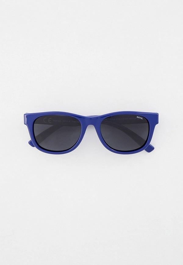 солнцезащитные очки invu для девочки, синие