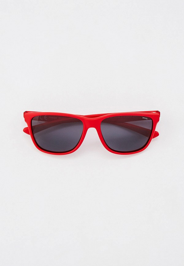 солнцезащитные очки invu для мальчика, красные