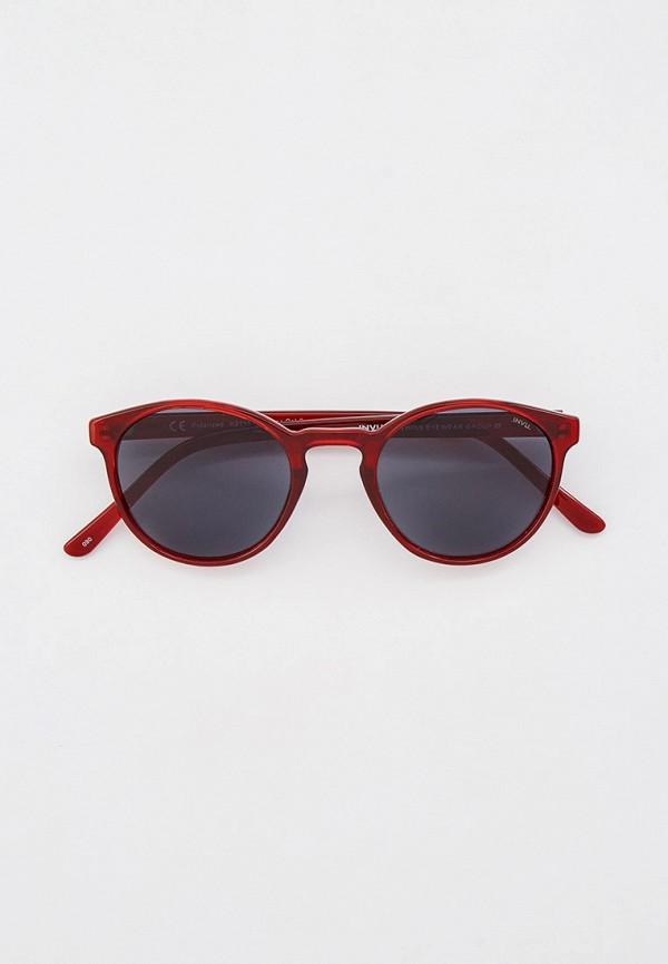 солнцезащитные очки invu малыши, бордовые