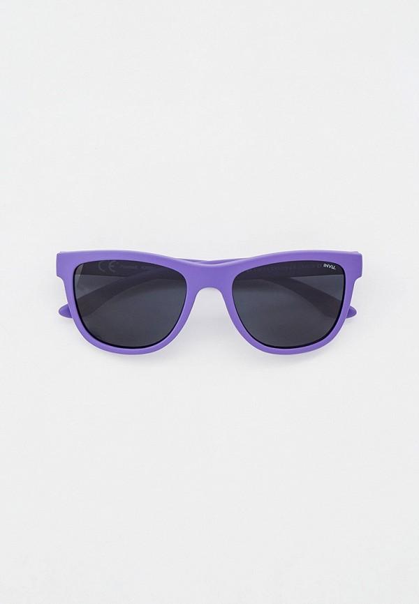солнцезащитные очки invu для девочки, фиолетовые