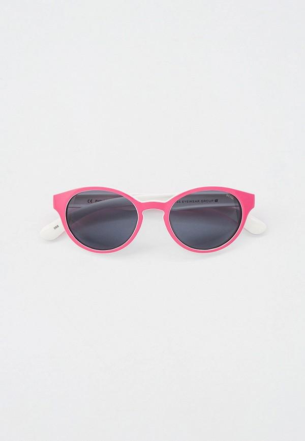 солнцезащитные очки invu для девочки, розовые