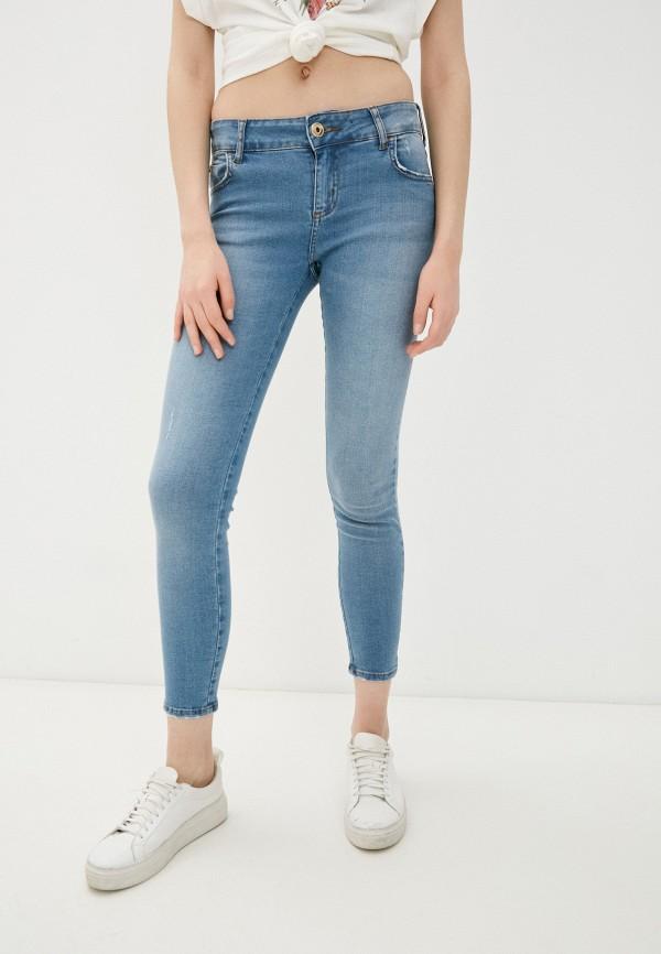 женские джинсы скинни colcci, голубые