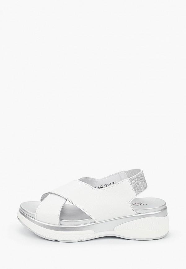 женские сандалии vittorio bravo, белые