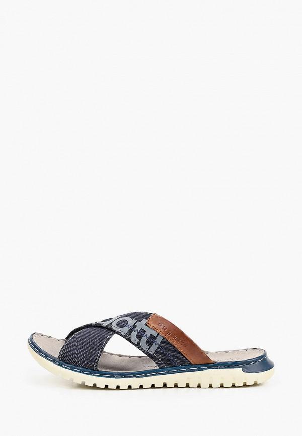 мужские сандалии bugatti, синие