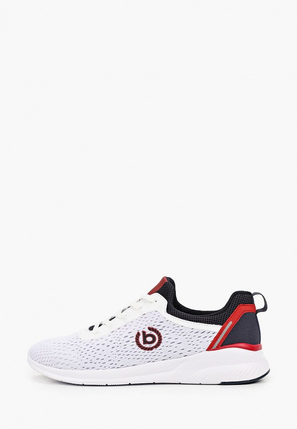 мужские кроссовки bugatti, белые