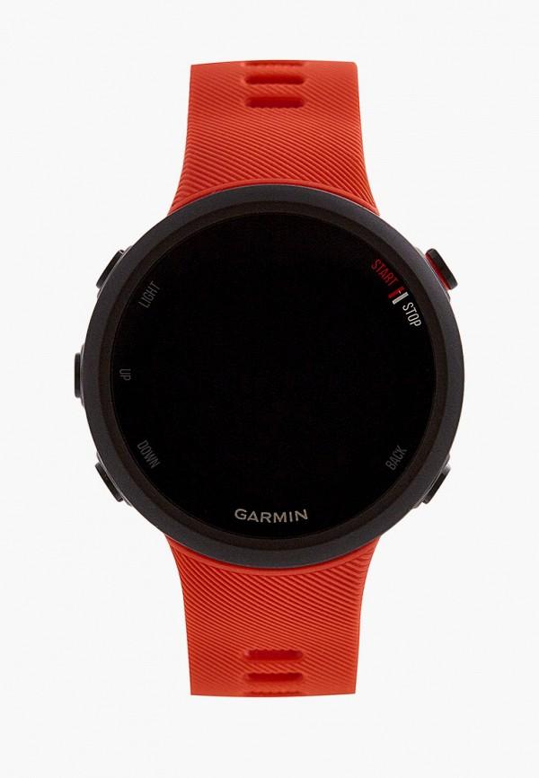 женские часы garmin, красные