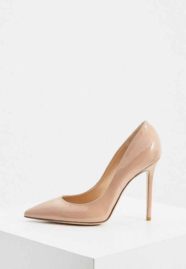 женские туфли-лодочки nando muzi, бежевые