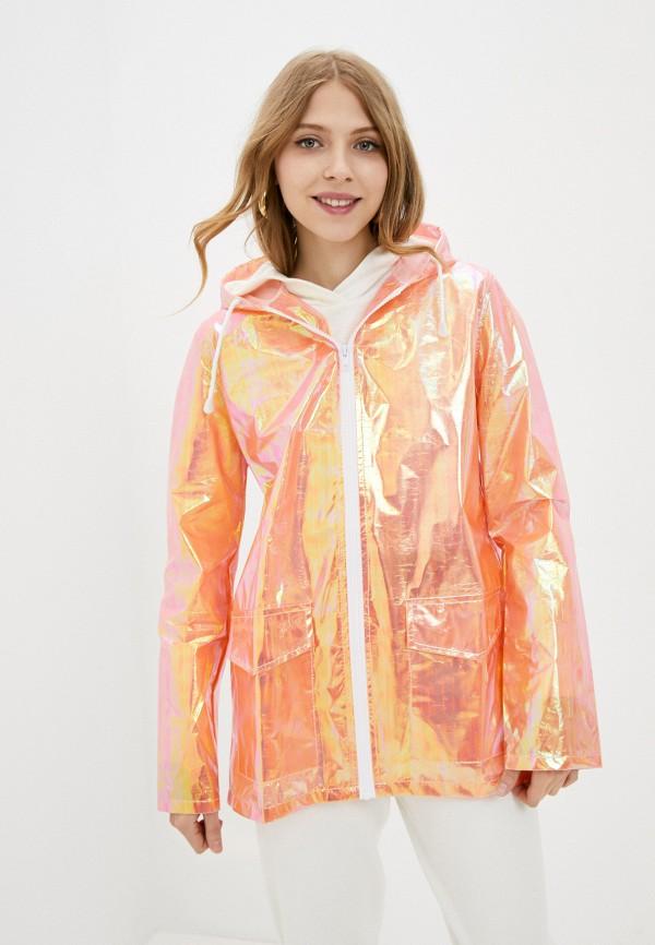 женская куртка brave soul, оранжевая