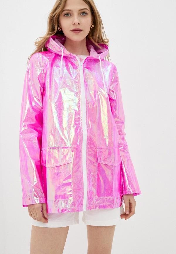 женская куртка brave soul, розовая
