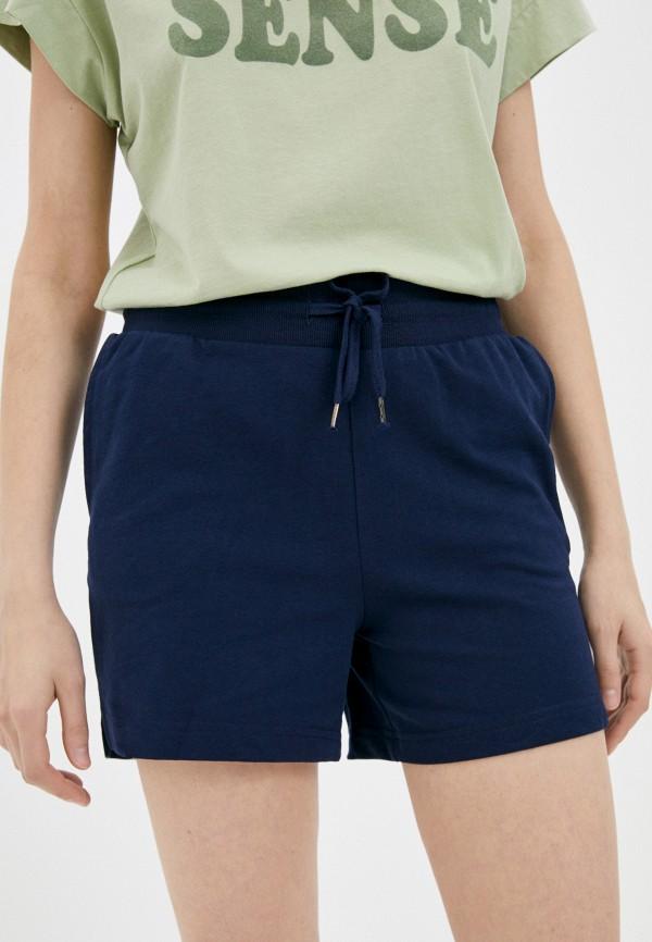 женские спортивные шорты brave soul, синие