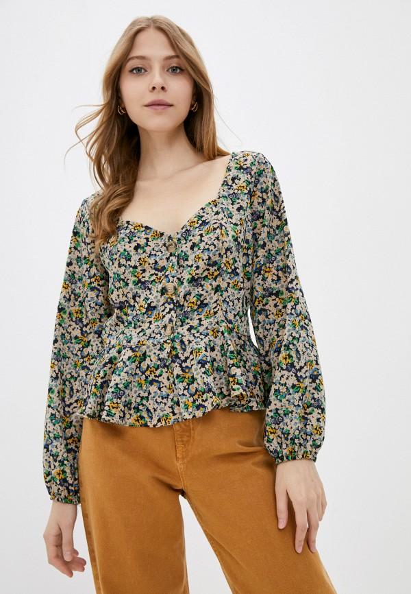 женская блузка brave soul, разноцветная