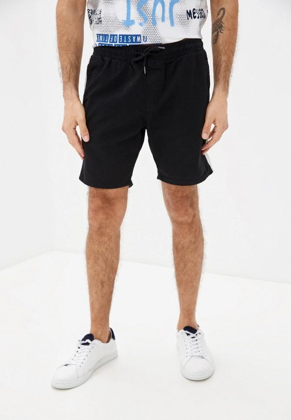 мужские спортивные шорты brave soul, черные