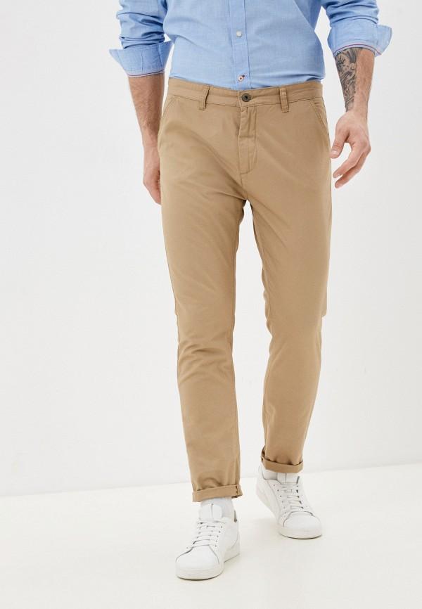 мужские брюки чинос brave soul, бежевые