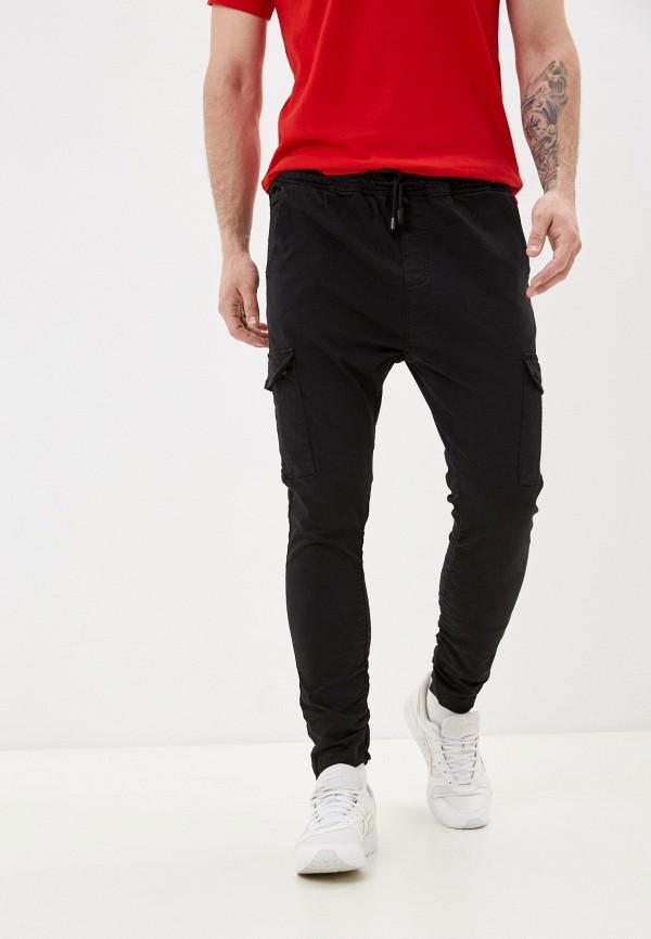 мужские брюки brave soul, черные