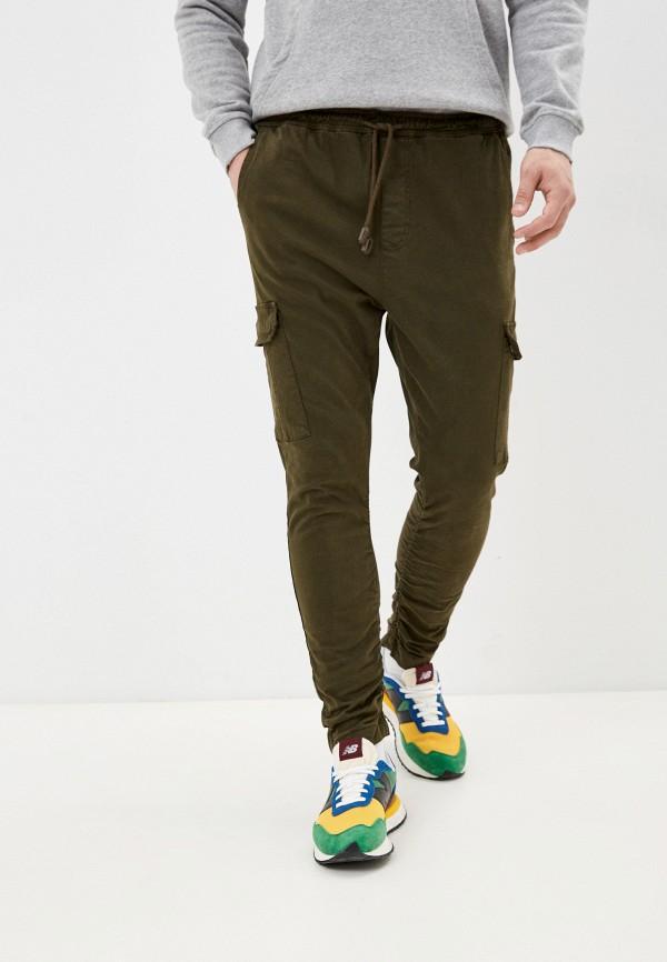 мужские брюки brave soul, хаки