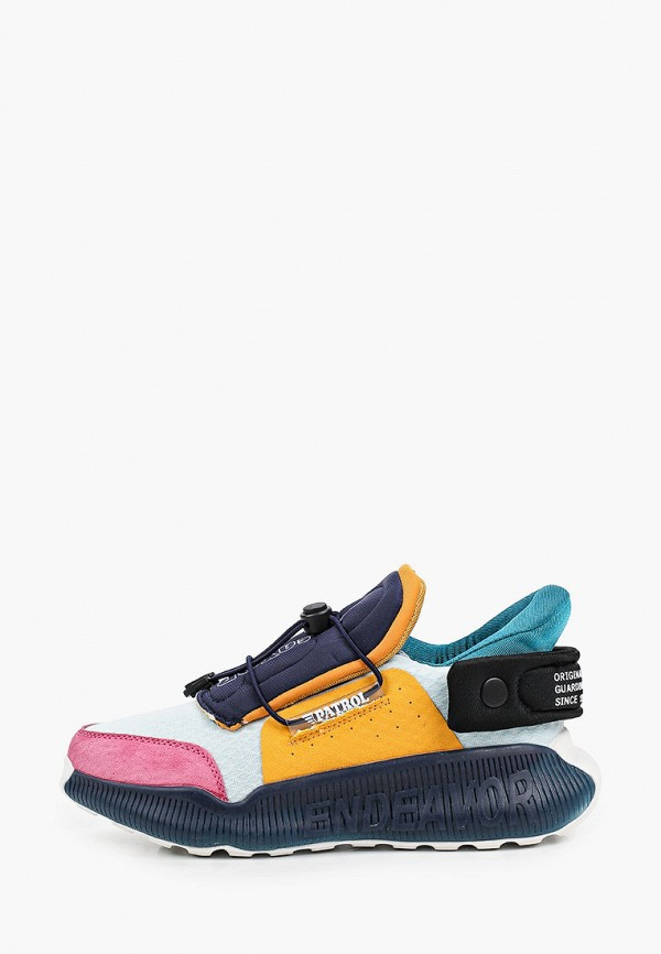 женские низкие кроссовки patrol, разноцветные