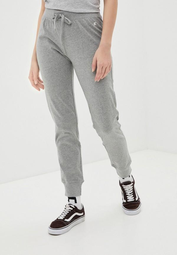 женские спортивные брюки champion, серые