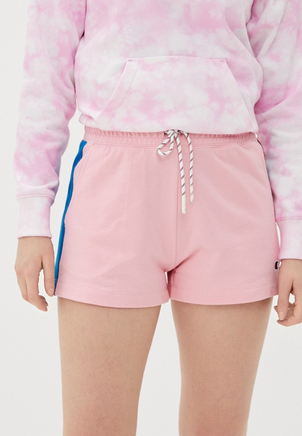 женские спортивные шорты champion, розовые