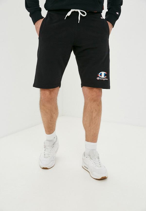 мужские спортивные шорты champion, черные