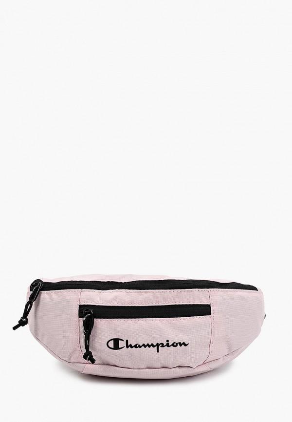 женская сумка champion, розовая