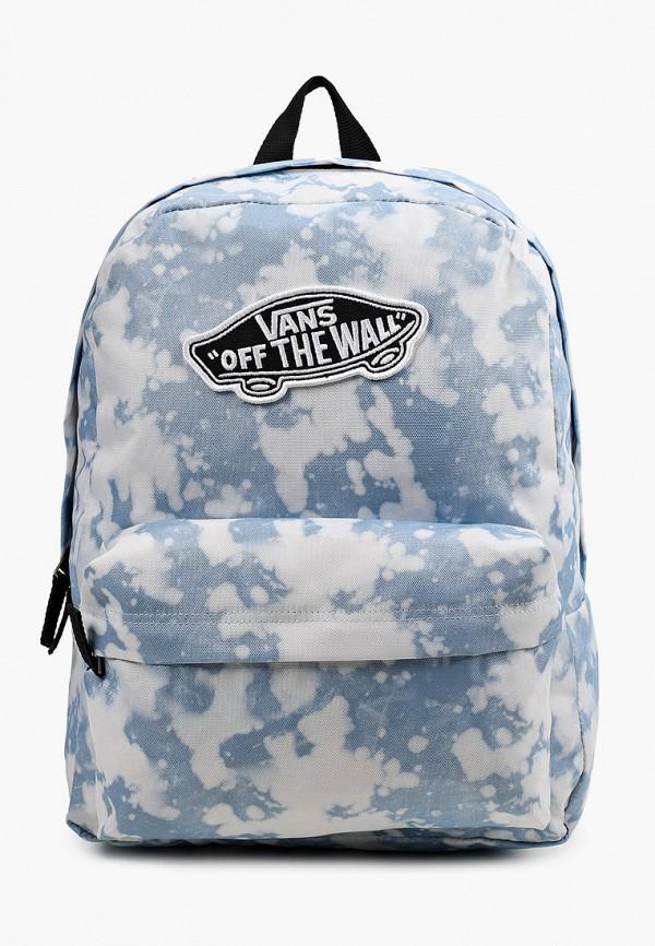 женский рюкзак vans, голубой