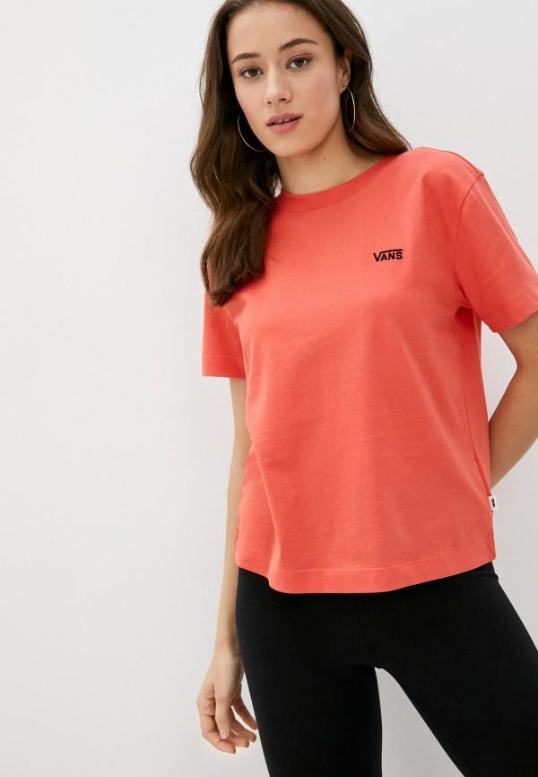 женская спортивные футболка vans