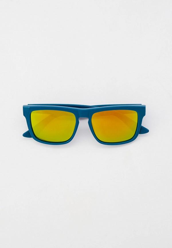 женские квадратные солнцезащитные очки vans, синие