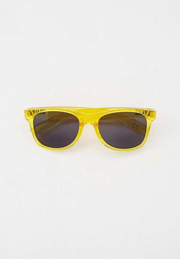 женские солнцезащитные очки vans, желтые