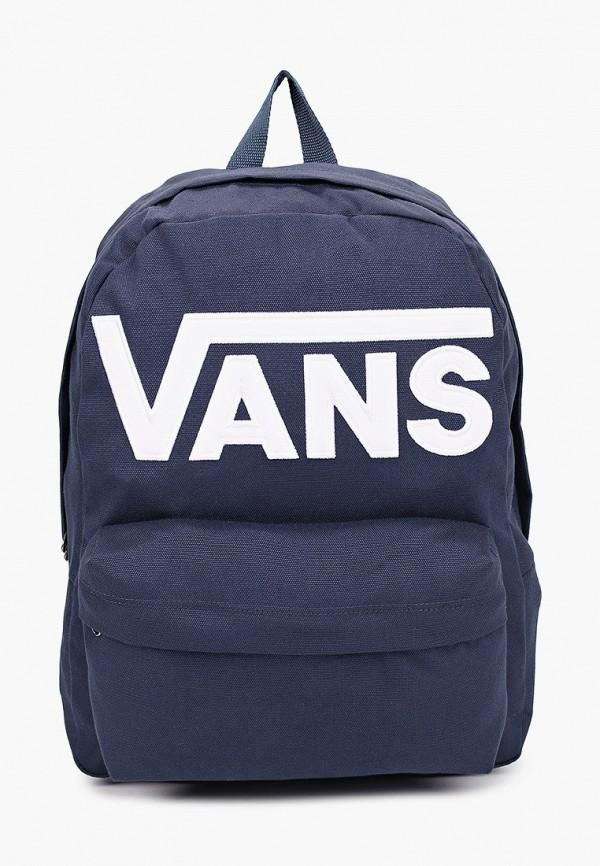 мужской рюкзак vans, синий