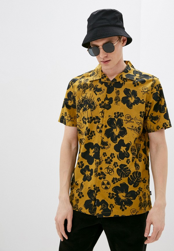мужская рубашка vans, хаки