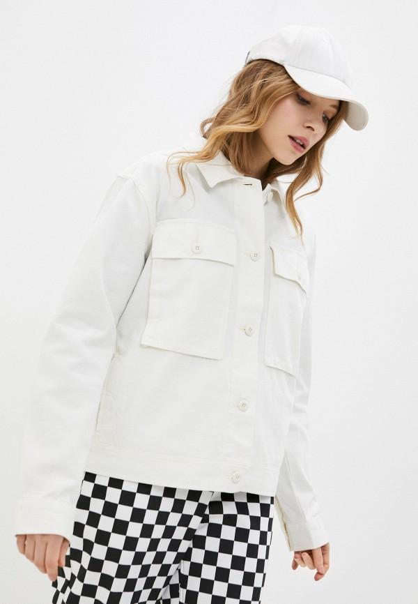 женская куртка vans, белая