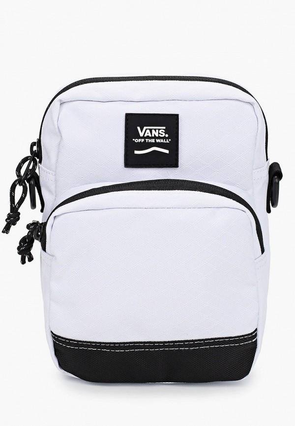 мужская сумка vans, белая