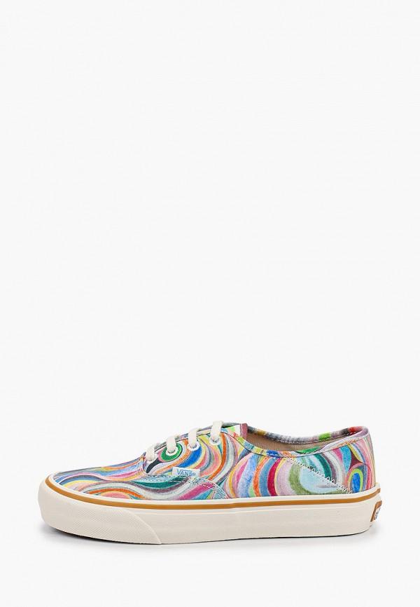 женские кеды vans, разноцветные