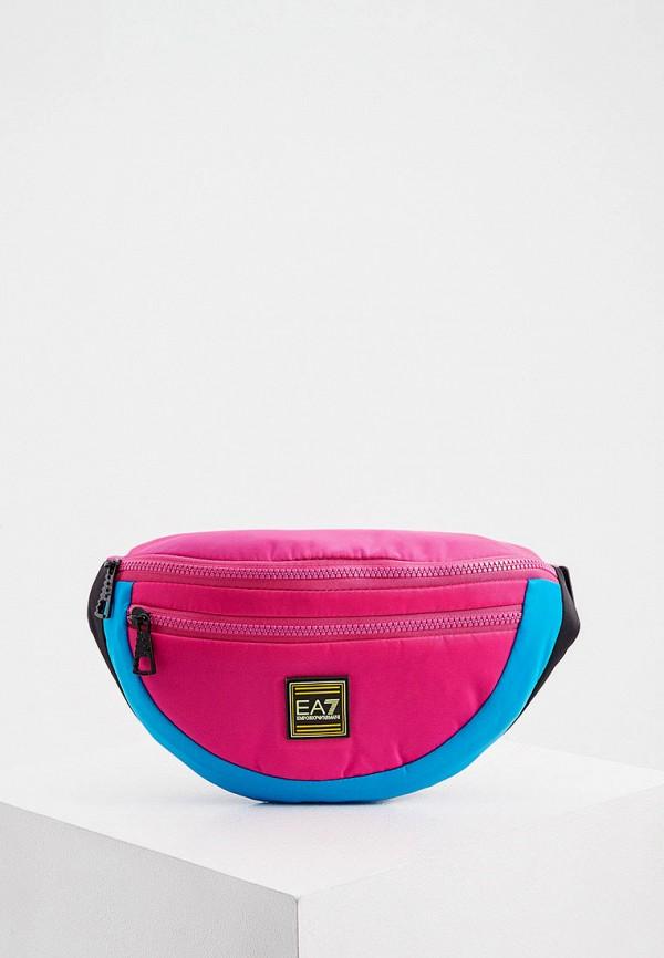 женская поясные сумка ea7, розовая