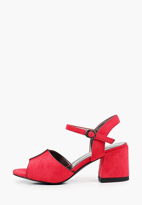 женские босоножки bona mente, красные