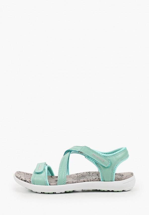 женские сандалии m25, бирюзовые