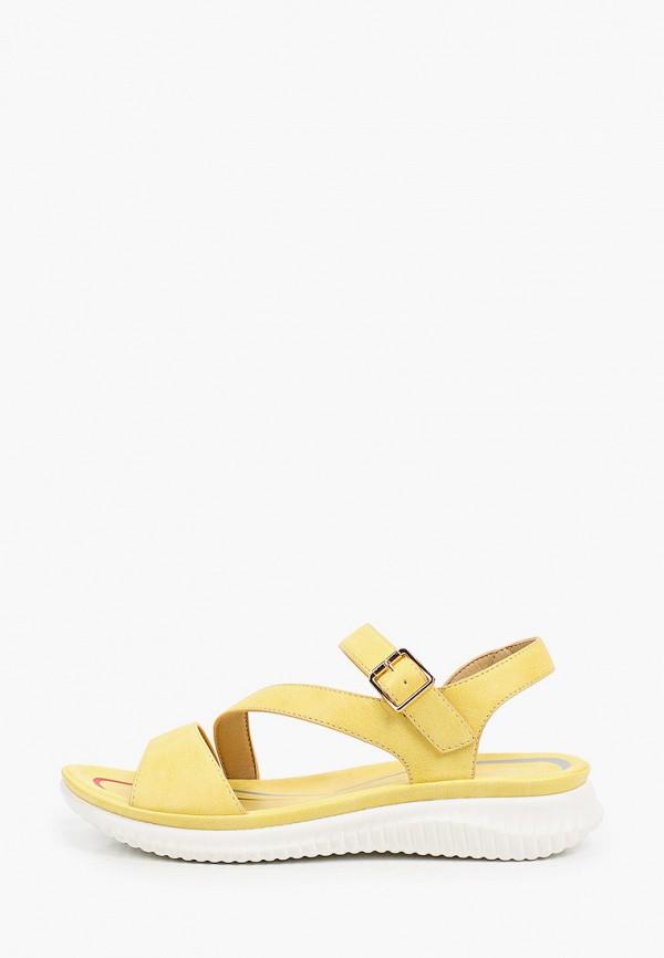 женские сандалии m25, желтые