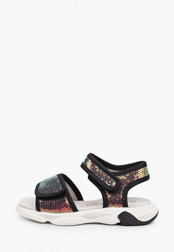 сандалии ulёt для девочки, разноцветные