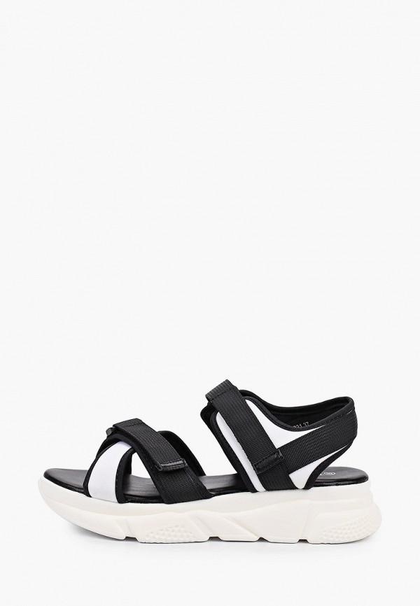сандалии ulёt для девочки, черные